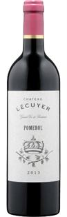 Chateau Lecuyer Pomerol 2013 750ml